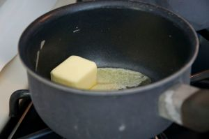 Melting Butter for White Sauce