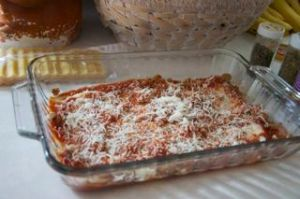 Uncooked Lasagna